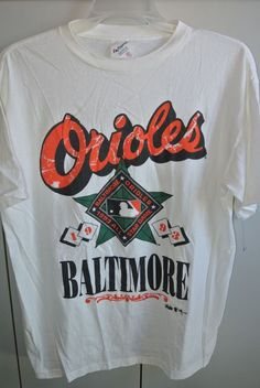 Baltimore Orioles XL 1993 MLB All-Star Game Men Tee Majestic No Player/New | Sports Mem, Cards & Fan Shop, Fan Apparel & Souvenirs, Baseball-MLB | eBay!