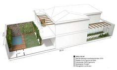 Reforma integra sobrado carioca ao jardim de 48 m². Fotos publicadas na revista Arquitetura & Construção.