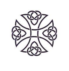Celtic Cross pochoir pochoir Mylar Croix par TheBeadSource sur Etsy