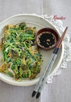 Korean Spinach Pancakes