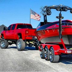 jacked up trucks chevy Jacked Up Trucks, Cool Trucks, Chevy Trucks, Ski Boats, Cool Boats, Wakeboarding, Malibu Boats, Wakeboard Boats, Speed Boats