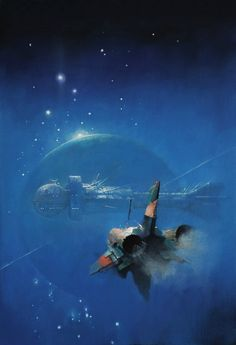 TOMORROW & BEYONDby #John Harris #Illustration #Science-Fiction