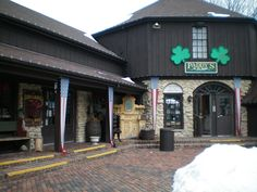 """Paddy's on the Square"". This store had items from Ireland - Long Grove IL.  Went there almost every St. Patrick's Day"