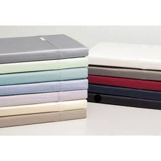 Linen House Elite 260thc Polyester Cotton Stripe Flat