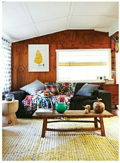 Houseboat home featured in frankie magazine