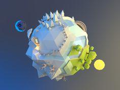 Tiny planet 2 by Alex Pushilin