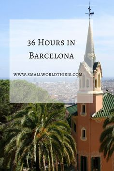 A short, but fulfilling visit to Barcelona that included delicious jamon sandwiches, getting intentionally lost in the Gracia neighborhood and plenty of Gaudi architecture