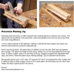 Precision Planing Jig