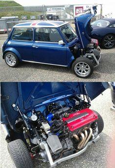 Mini - honda vtec motor