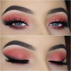 Peachy look by @makeupbyan using VENUS