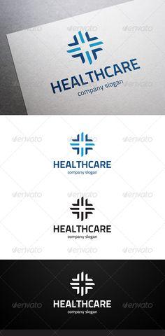 Healthcare Logo  #GraphicRiver