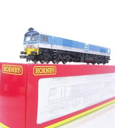 """HORNBY R2519 - FOSTER-YEOMAN CLASS 59 DIESEL 59005 """"KENNETH J PAINTER"""" - DCC RE"""