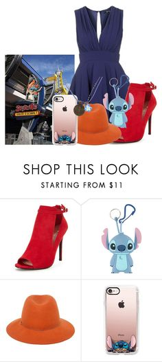 """""""Stitch's Great Escape"""" by basic-disney ❤ liked on Polyvore featuring TFNC, Disney and Casetify"""