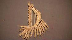 Wheat Weaving Tutorial: Fairy Harp