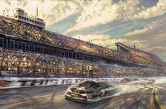 nascar paintings - Google Search