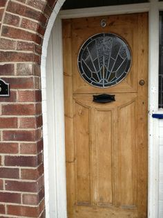 1920s style front doors and bespoke on pinterest for 1930s front door styles