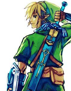 Skyward Link by manreeworks on deviantART | The Legend of Zelda: Skyward Sword, Link