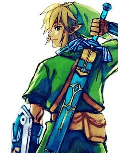 Link, he represents the adventurous child within all of us! His adventures and story inspired each gamer at least once in their lifetimes.