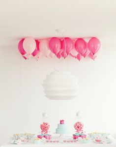 PRINCESS THEMED 4TH BIRTHDAY- soft palettes of pinks & blues
