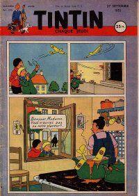 Journal de TINTIN édition Française N° 153 du 27 Septembre 1951