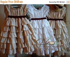 ON SALE Petticoat PDF Pattern sizes 6 months by HandmaidensCottage