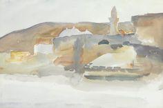 c. 1910 [?] Mosque, Jerusalem. Christie's.