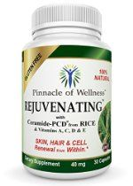 Rejuvenating Phytoceramides - Best All Natural Anti Aging Skin Care: Are you struggling with dry skin, fine lines & wrinkles? Rejuvenating with Ceramide-PCD & vitamins A,C,D & E can take the struggle out of dry skin, fine lines & wrinkles for you. $14.99