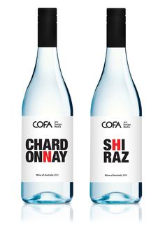 COFA Wines by Christian Andree, via Behance