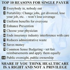 Superb Bernie Sandersu0027 Medicare For All Single Payer Plan Will Get Insurance  Companies Out Of Healthcare So Everyone Can Have Affordable Healthcare.