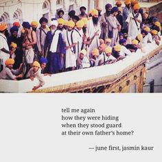 """""""Let them come. We will give them battle."""" — Sant Jarnail Singh Jee Bhindranwale  #IndiaOutOfKhalistan Operation Blue Star, Guru Gobind Singh, Gurbani Quotes, Brown Girl, Life Lessons, Worship, Beautiful Pictures, Religion, Spirituality"""