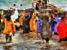 Fishermen, M'Bour, Senegal