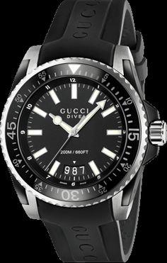 Gucci Dive Reloj de Cuarzo XL YA136204 | Relojería y Joyería de Gucci