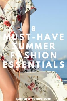 Summer is here and it's time to get out our best hot weather outfits. We have our picks for the most essential pieces for your summer wardrobe #clothes #fashion #summer