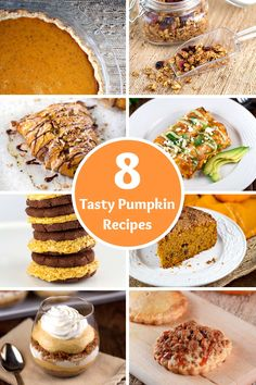 8 of my favorite tasty pumpkin recipes for you to try and home this season   jessicagavin.com