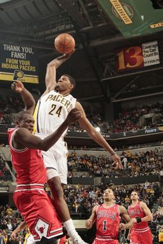 e7bbc307fab5 Paul George s Dunks. Pacer GameIndiana PacersChicago ...