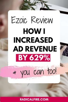 Do you want to make money blogging? Placing advertisements is a great way to do so. But, what platform to choose? Here's my honest Ezoic review, how it changed the blogging game for me, and to make money with your blog #blogging #makemoney #passiveincome #bloggers #makemoneyblogging Make Money Blogging, Make Money From Home, Make Money Online, How To Make Money, Blogging For Beginners, Extra Money, Cool Things To Make, Case Study, Business Tips