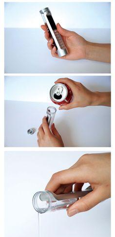 Coca Cola powered phone.