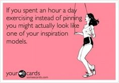 Haha so true.... But I do.... I'm trying to look like no model though, believe me! Lol