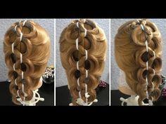 Коса кольцами - Hairstyles by REM - YouTube
