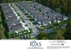 Landscape Design Plans, Landscape Architecture Design, Concept Architecture, Architecture Details, Guest House Plans, Duplex House Plans, Duplex House Design, Condominium Architecture, African House