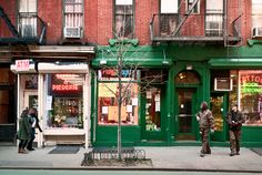 The Best of the West Village - The West Village is a labyrinth of shady brownstone-lined streets, hidden gardens, corner shops, and a mix of sophisticated culinary temples and casual downhome joints. Here are some of my favorite spots! shops