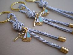 martirika-nautical martyrika-Key chains Baptism Favors-elegant bomboniere-greek christening -Luxury martirika-nautical martyrika-Key chains Baptism Favors-elegant bomboniere-greek christening - Religious Favors-christening favors-shower party favors-first Baby Baptism, Christening Gifts, Nautical Baptism, Ideas Bautizo, Diy And Crafts, Arts And Crafts, Baptism Favors, Diy Keychain, Key Fobs