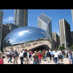 The cloud gate - CHICOGO