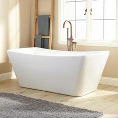 """67"""" Nina Acrylic Freestanding Tub"""