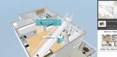 RoomSketcher softare 3D snapshot feature Kitchen Design Software, Interior Design Software, House Design, Flooring, Wood Flooring, Architecture Design, House Plans, Home Design, Floor