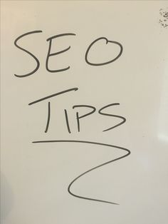 Different SEO Tips And Tricks