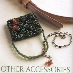 Miniature beaded purse PATTERN