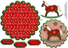 Christmas Wobbles - Rocking Horse