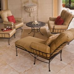 Wrought Iron Lawn Furniture Colorado Springs, Metal Patio Furniture    Westernfireplace | House Ideas | Pinterest | Lawn Furniture, Furniture And  Spring