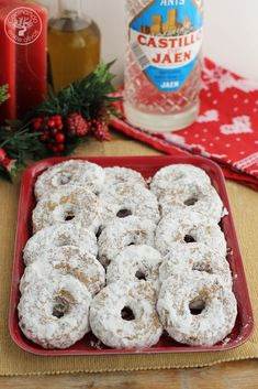 Donut Recipes, Top Recipes, Sweet Recipes, Cookie Recipes, Xmas Food, Christmas Cooking, Brownie Cookies, Cupcake Cookies, Mexican Bread